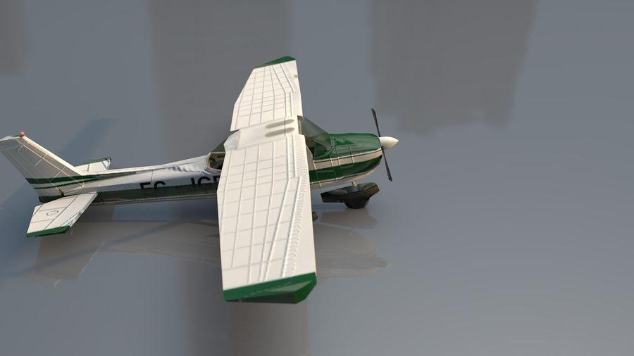 Avión Jet Cessna Business royalty-free modelo 3d - Preview no. 7
