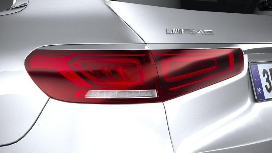 Mercedes-Benz GLS63 AMG 2021 royalty-free 3d model - Preview no. 16