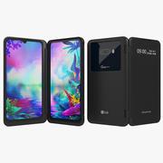 LG G8X ThinQデュアルスクリーン(アニメーション) 3d model
