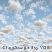 Clouds Sky 04 VDB 3d model