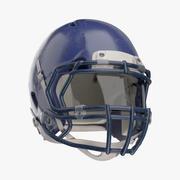 Fotboll hjälm 3d model