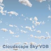 구름 하늘 03 VDB 3d model