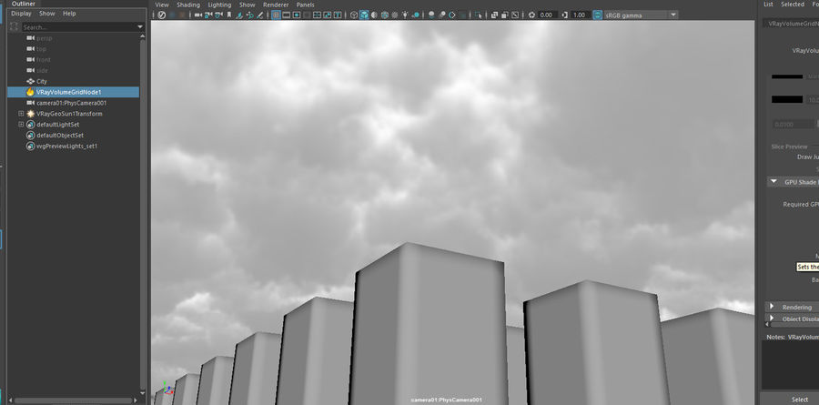 Clouds Sky 01 VDB royalty-free 3d model - Preview no. 5