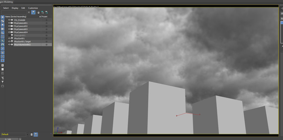 Clouds Sky 01 VDB royalty-free 3d model - Preview no. 4