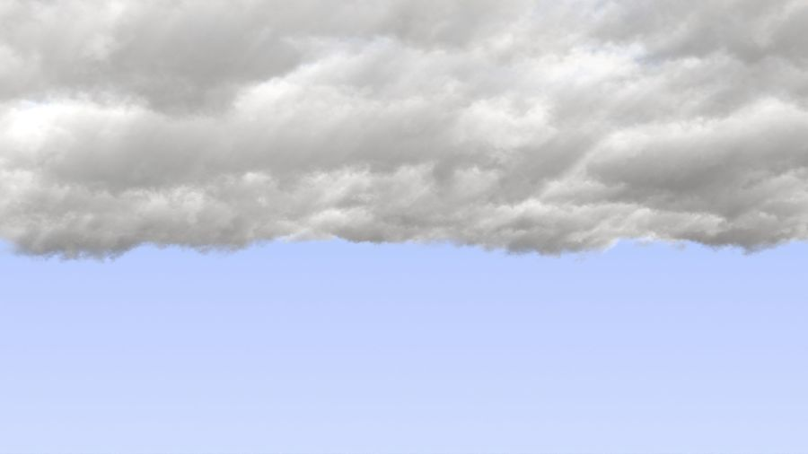 Clouds Sky 01 VDB royalty-free 3d model - Preview no. 7