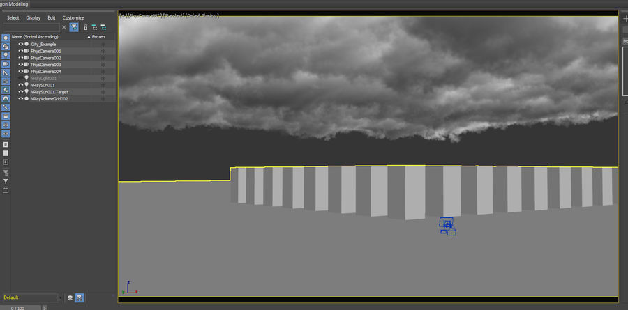 Clouds Sky 01 VDB royalty-free 3d model - Preview no. 8