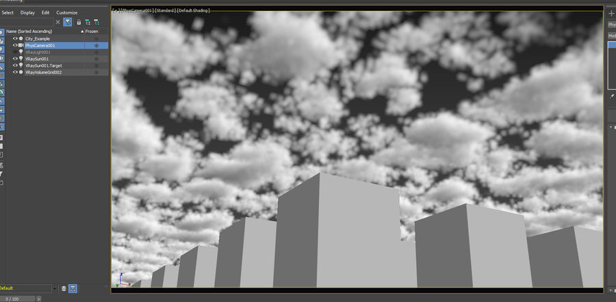3D Clouds Sky - 6 PACK royalty-free 3d model - Preview no. 24
