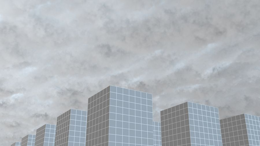 3D Clouds Sky - 6 PACK royalty-free 3d model - Preview no. 31