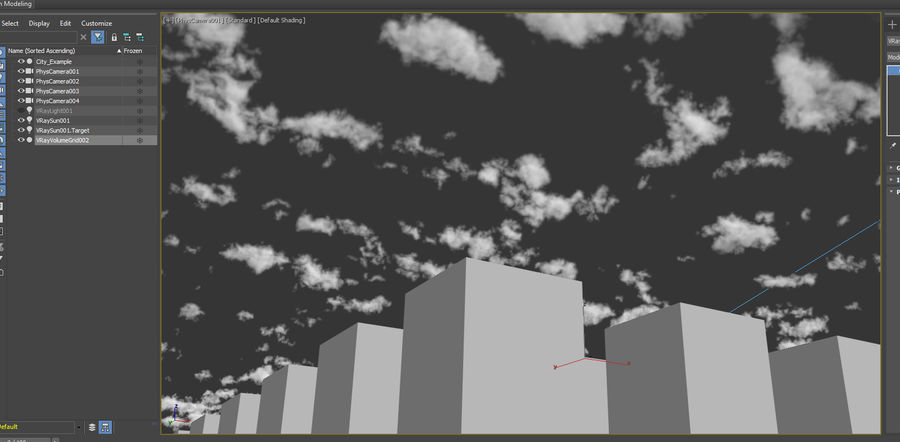 3D Clouds Sky - 6 PACK royalty-free 3d model - Preview no. 19