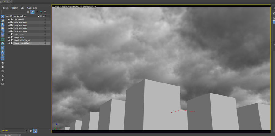 3D Clouds Sky - 6 PACK royalty-free 3d model - Preview no. 10