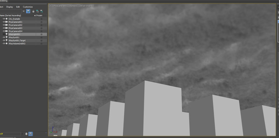 3D Clouds Sky - 6 PACK royalty-free 3d model - Preview no. 33