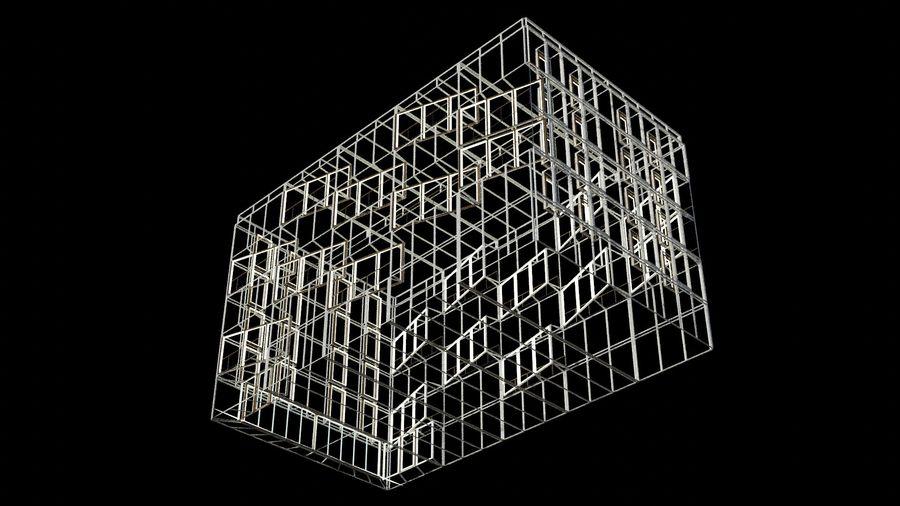 대표성 건축 건물-외관 royalty-free 3d model - Preview no. 23