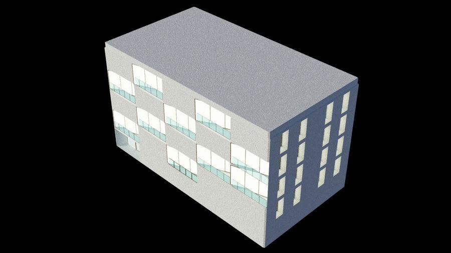 대표성 건축 건물-외관 royalty-free 3d model - Preview no. 8