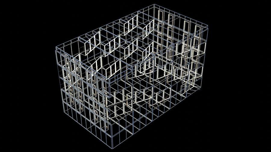대표성 건축 건물-외관 royalty-free 3d model - Preview no. 18