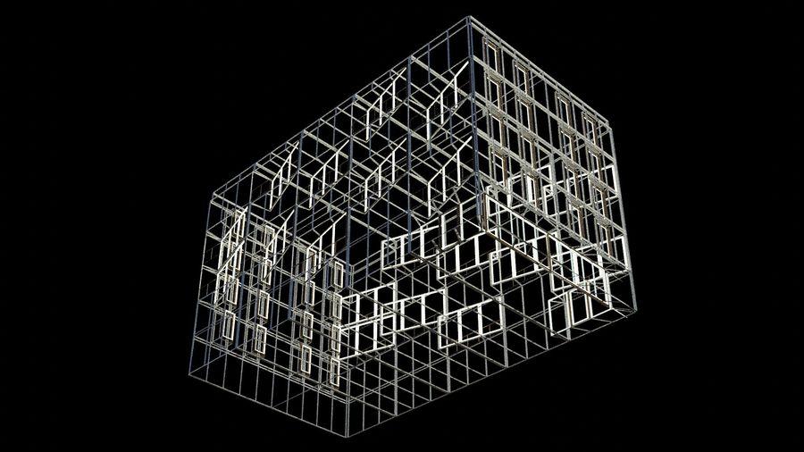 대표성 건축 건물-외관 royalty-free 3d model - Preview no. 21