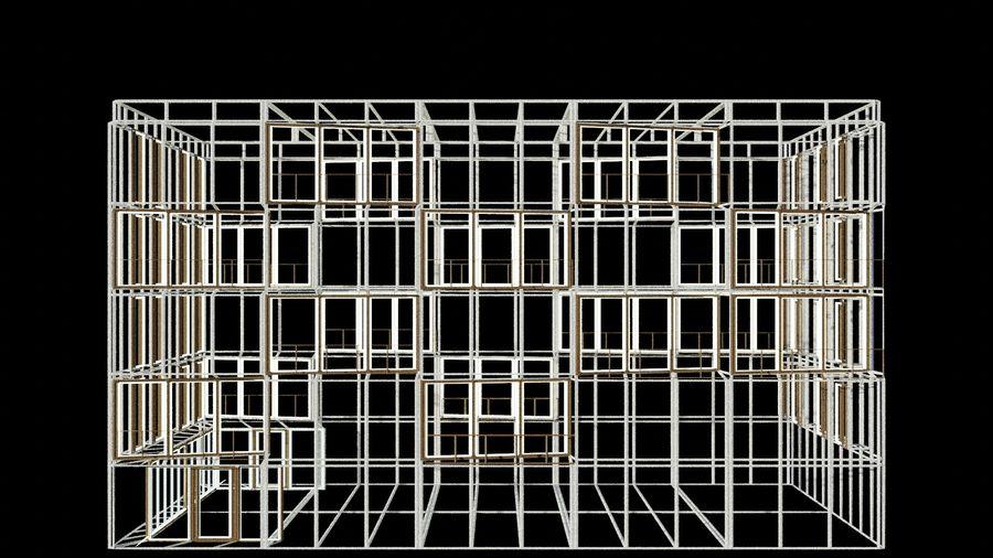 대표성 건축 건물-외관 royalty-free 3d model - Preview no. 14