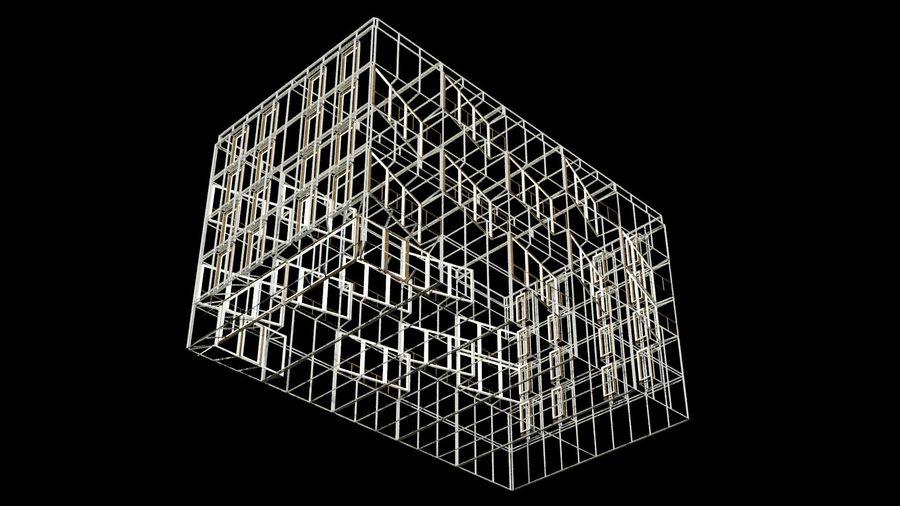 대표성 건축 건물-외관 royalty-free 3d model - Preview no. 24