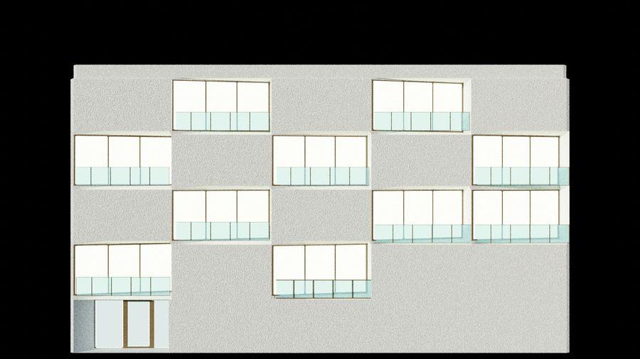 대표성 건축 건물-외관 royalty-free 3d model - Preview no. 4