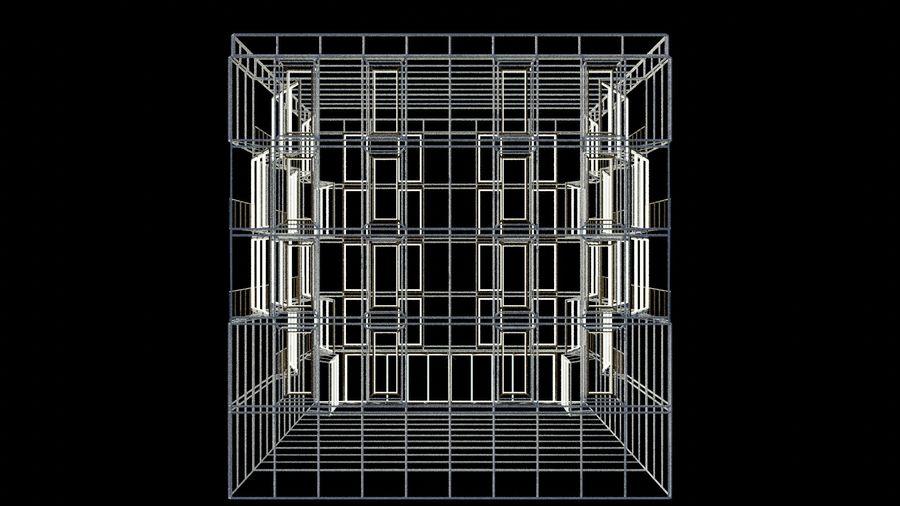 대표성 건축 건물-외관 royalty-free 3d model - Preview no. 15