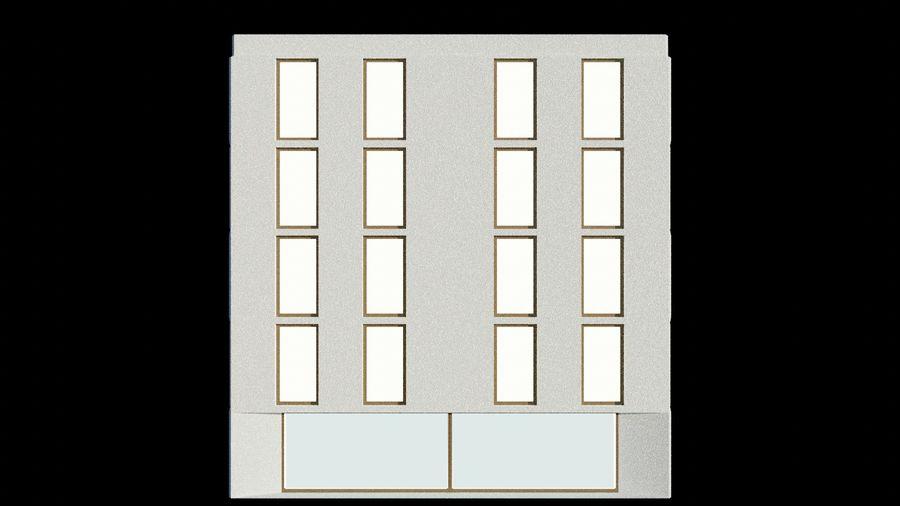 대표성 건축 건물-외관 royalty-free 3d model - Preview no. 6