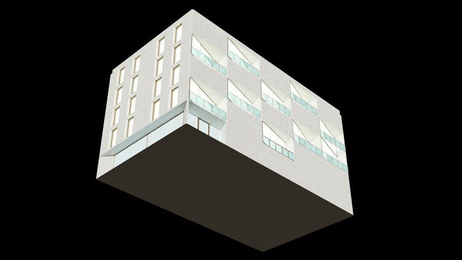 대표성 건축 건물-외관 royalty-free 3d model - Preview no. 12