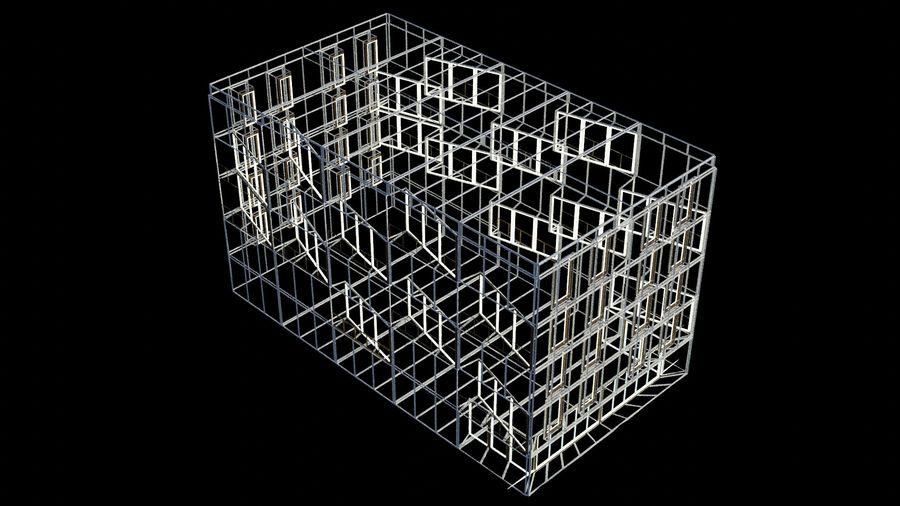 대표성 건축 건물-외관 royalty-free 3d model - Preview no. 17