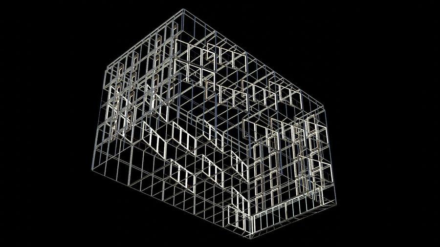 대표성 건축 건물-외관 royalty-free 3d model - Preview no. 22