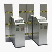 Metro Poort (1) 3d model