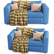 Sofa Askeby 3d model