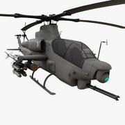 Bell AH - 1Z Viper Helicopter 3d model