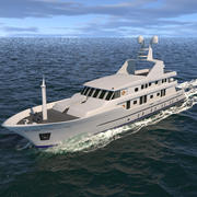 Orleans Yacht Dynamic Simulation 3d model