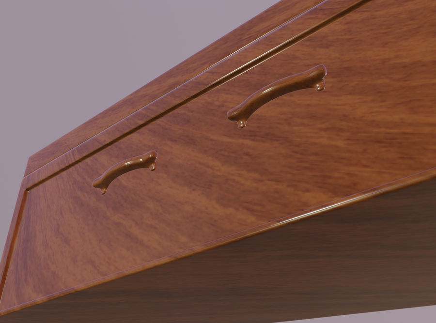 Coffin royalty-free 3d model - Preview no. 11