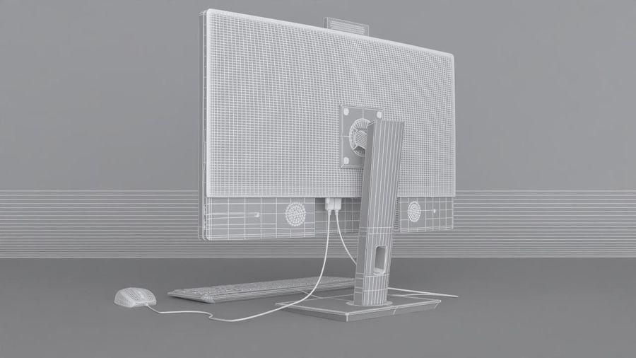 Desktop computer royalty-free 3d model - Preview no. 12