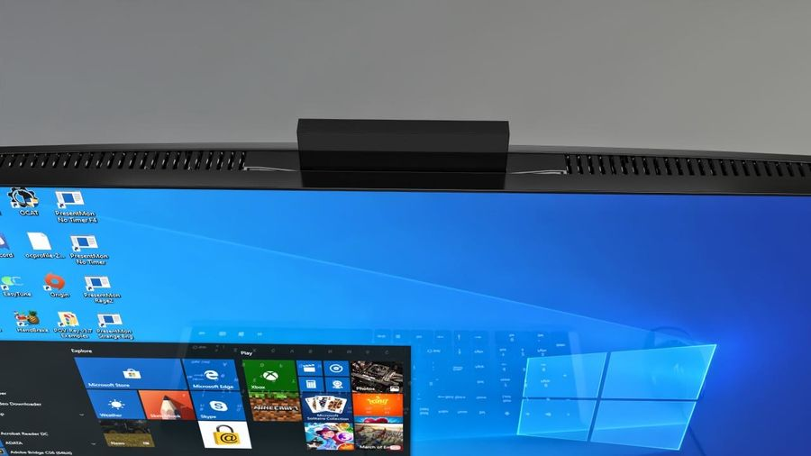 Desktop computer royalty-free 3d model - Preview no. 3