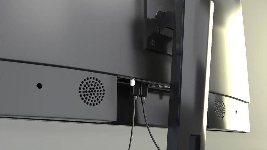 デスクトップコンピューター royalty-free 3d model - Preview no. 1