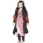 Nezuko-kimetsu no yaiba-Zabójca demonów 3d model
