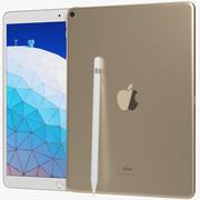 Apple iPad Air 3 10,5 (2019) WiFi ve Hücresel Altın 3d model