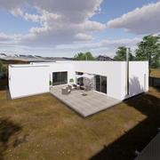 Familjens hus 1 3d model
