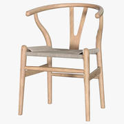 Hans Wegner Wishbone Chair 3d model