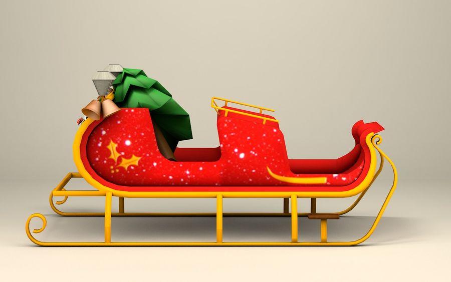 Santa Kızak royalty-free 3d model - Preview no. 8