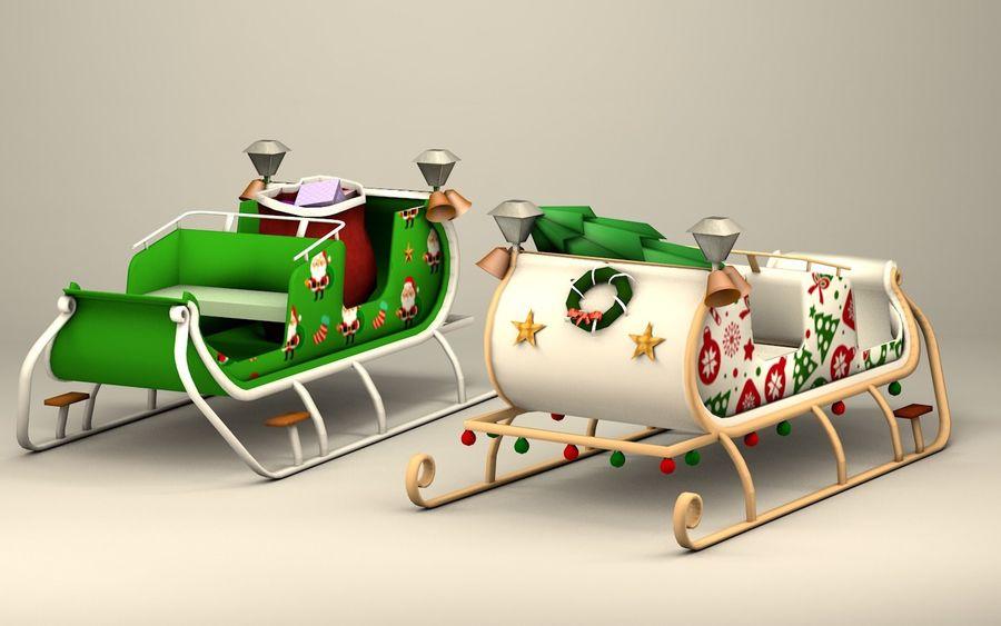 Santa Kızak royalty-free 3d model - Preview no. 1
