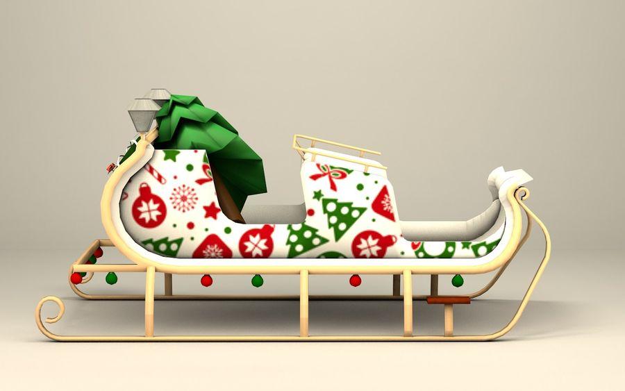Santa Kızak royalty-free 3d model - Preview no. 3