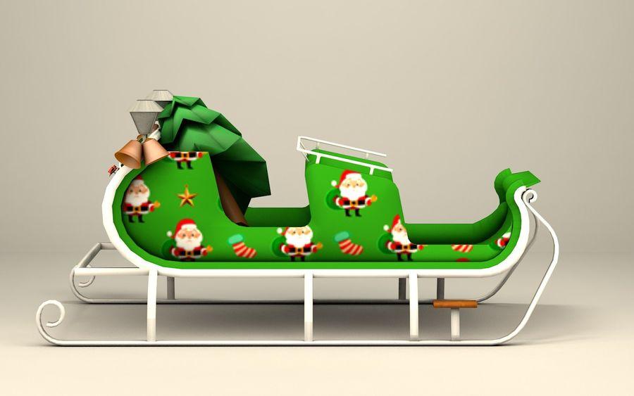 Santa Kızak royalty-free 3d model - Preview no. 7