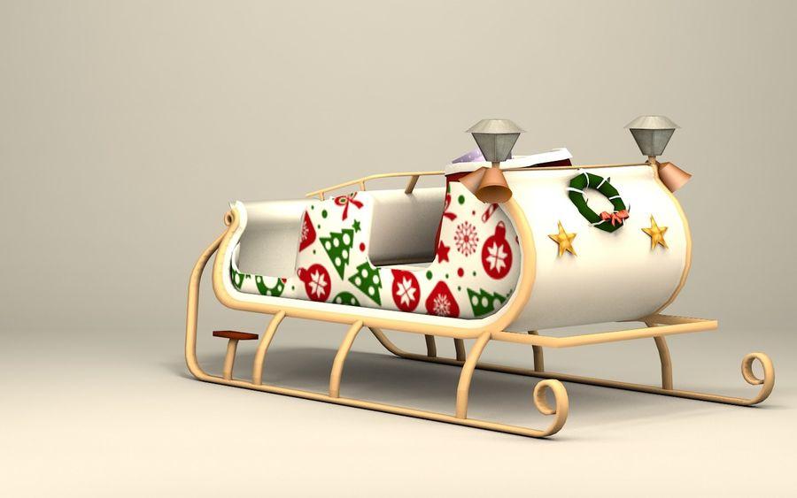 Santa Kızak royalty-free 3d model - Preview no. 9