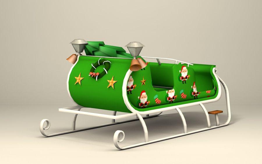 Santa Kızak royalty-free 3d model - Preview no. 4