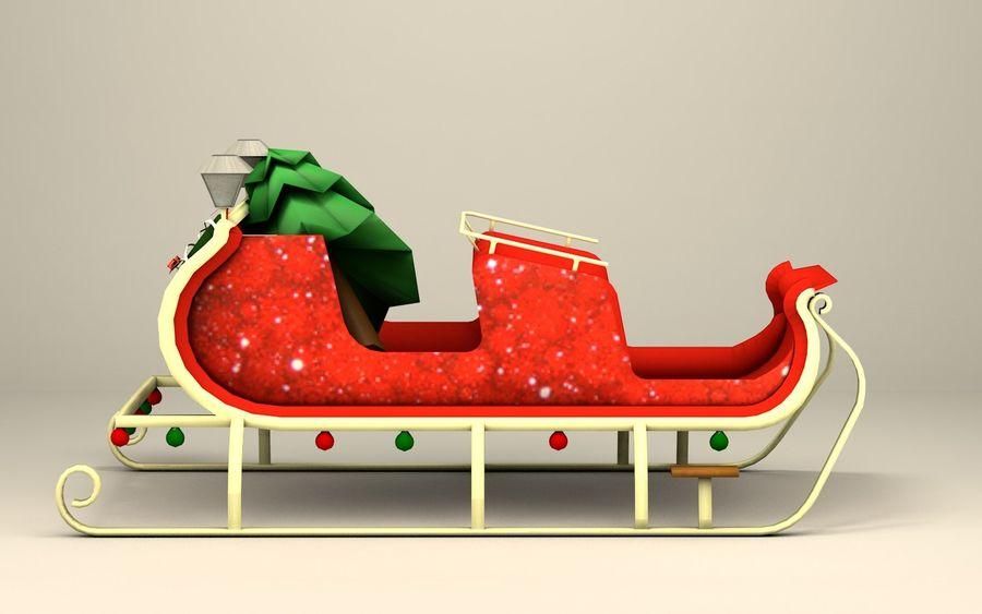 Santa Kızak royalty-free 3d model - Preview no. 6