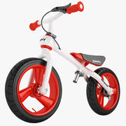 Bicycoo Balance Bike 01 3d model