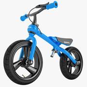 Bicycoo Balance Bike 03 3d model