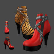 Ankle Boots 1 3d model