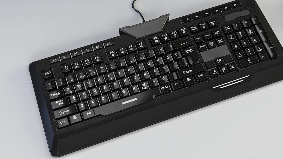 Gaming Desktop PC royalty-free 3d model - Preview no. 6